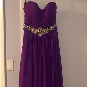 Long elegant dress!